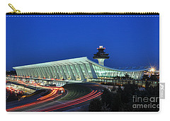 Washington Dulles International Airport At Dusk Carry-all Pouch