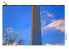 Washington Monument And Cherry Tree  Carry-all Pouch