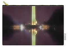 Washington Monument Carry-all Pouch by Lorella Schoales