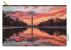 Washington Monument Sunrise Carry-all Pouch