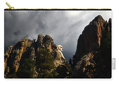 Washington Profile 001 Carry-all Pouch by George Bostian
