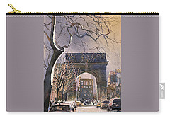 Washington Square- Nyc Carry-all Pouch by Ryan Fox