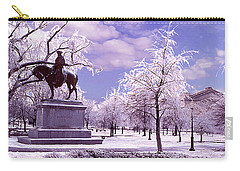 Carry-all Pouch featuring the photograph Washington Square Park by Steve Karol