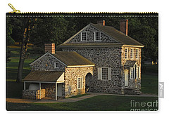 Carry-all Pouch featuring the photograph Washington's Headquarters At Valley Forge by Cindy Manero
