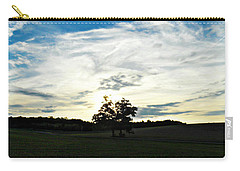 Carry-all Pouch featuring the photograph Wasting Time by Cyryn Fyrcyd
