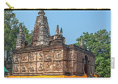 Carry-all Pouch featuring the photograph Wat Jed Yod Maha Vihara Jedyod Dthcm0902 by Gerry Gantt