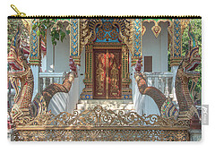 Wat Nam Phueng Phra Ubosot Entrance Dthla0012 Carry-all Pouch