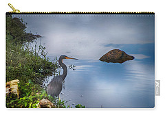 Carry-all Pouch featuring the photograph Watchful  by Judy Hall-Folde