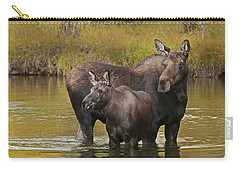 Watchful Moose Carry-all Pouch