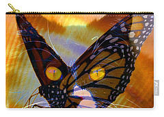 Carry-all Pouch featuring the photograph Watching Butterlies by David Lee Thompson