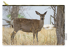 Watching From The Woods Carry-all Pouch by James BO Insogna