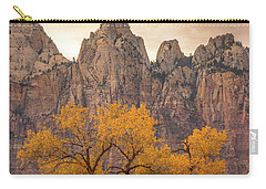 Carry-all Pouch featuring the photograph Watching Over Zion  by Dustin LeFevre