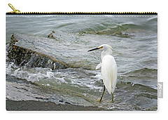 Watching The Tide Come In Carry-all Pouch