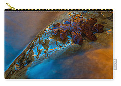Carry-all Pouch featuring the photograph Water A Leaf by Dustin LeFevre