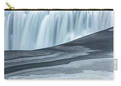 Carry-all Pouch featuring the photograph Water And Ash by Dustin LeFevre