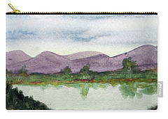 Water And Distant Hills Carry-all Pouch by R Kyllo