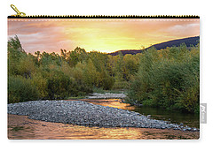 Water And Sky Carry-all Pouch by Mary Hone
