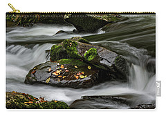 Water Around Rocks Carry-all Pouch