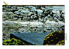 Water Bubbles Gone Wild Carry-all Pouch by Carol F Austin