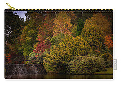 Carry-all Pouch featuring the photograph Water Cascade by Ryan Photography