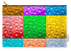 Carry-all Pouch featuring the photograph Water Color by DJ Florek