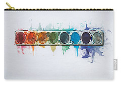 Water Colors Carry-all Pouch