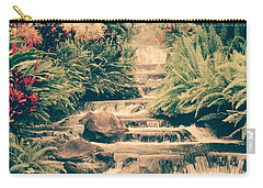 Carry-all Pouch featuring the photograph Water Creek by Sheila Mcdonald