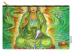 Water Dragon Kuan Yin Carry-all Pouch