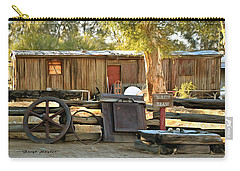 Carry-all Pouch featuring the photograph Water Draw At Hotel Nipton California By Floyd Snyder by Floyd Snyder