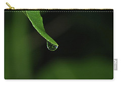 Carry-all Pouch featuring the photograph Water Drop by Richard Rizzo
