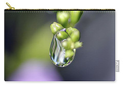 Carry-all Pouch featuring the photograph Water Droplet Iv by Richard Rizzo