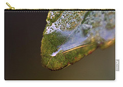 Carry-all Pouch featuring the photograph Water Droplet V by Richard Rizzo