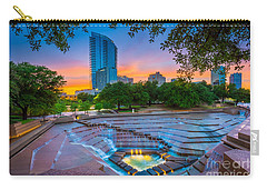 Water Gardens Sunset Carry-all Pouch