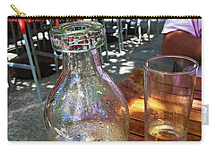 Water Glass And Pitcher Carry-all Pouch by Angela Annas