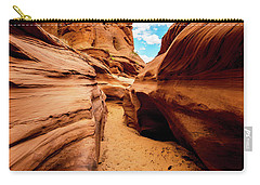 Carry-all Pouch featuring the photograph Water Holes Canyon Trail by Norman Hall