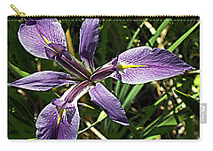 Water Iris Carry-all Pouch