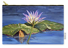 Water Lilie - Morning Carry-all Pouch