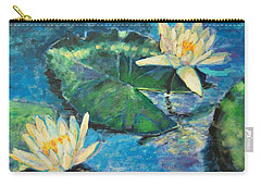 Water Lilies Carry-all Pouch by Ana Maria Edulescu
