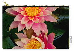Water Lilies Carry-all Pouch by Brent L Ander