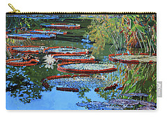 Water Lilies For Amelia Carry-all Pouch