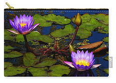 Water Lilies Iv Carry-all Pouch
