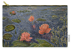 Water Lilies Lounge Carry-all Pouch