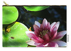 Water Lilly Carry-all Pouch
