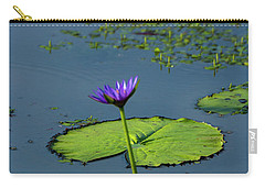 Carry-all Pouch featuring the photograph Water Lily 2 by Buddy Scott