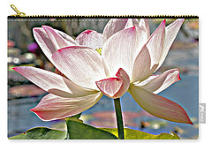 Water Lily Carry-all Pouch by Catherine Alfidi