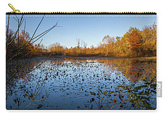 Water Lily Evening Serenade Carry-all Pouch