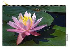 Water Lily In Mountain Lake Carry-all Pouch