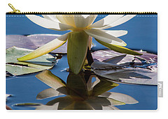 Water Lily Carry-all Pouch by Mary Hone