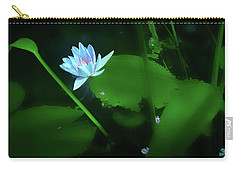 Water Lily N Pond Carry-all Pouch