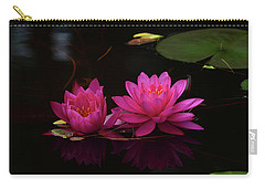 Water Lily Carry-all Pouch by Nancy Landry